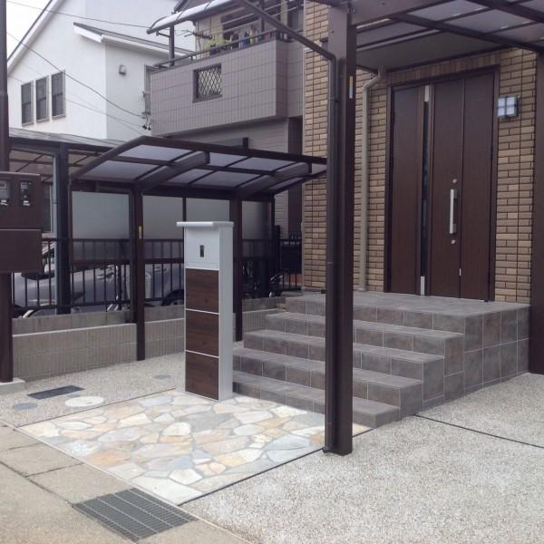 カーポート・エクステリア工事 名古屋市名東区 T様邸