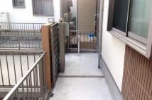 施工後。|問周り、目隠しフェンス工事 春日井市 K様邸